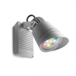 Hubble projector Grey 9 LED Cree 14W RGBDMX 46 grados