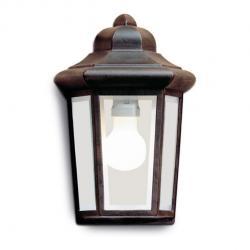 Perseo Wall Lamp rústico 21x31x14cm Brown óxido 1xE27 MAX 100W