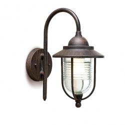 Sirena Wall Lamp Outdoor 18x35x27cm Brown óxido 1xE27 max 60W