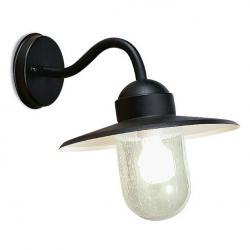 Triton Wall Lamp rústico 30x30x36cm Black 1xE27 max 100W