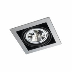 Multidir Downlight Individuale Quadrata QR 111 G53 Grigio