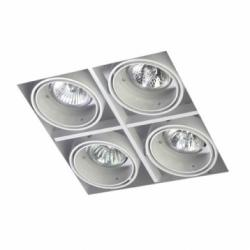 Multidir Trimless Downlight quadruple Square QR-CBC51 GU5.3 Black