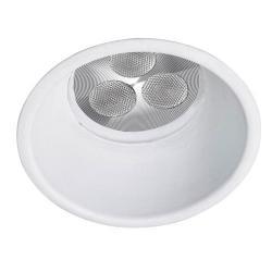Dome Downlight Rotonda fisso Qpar16 o QR-CBC 50w bianco