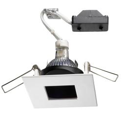 Pat Downlight Square 8,2cm 50w exit of light square white