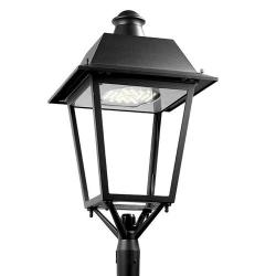 Bohemia Header Streetlight 20 x LED Osram 45W 4.283 lm (N) 4000K Black forja