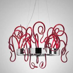 Aspid S65 Pendant Lamp 16x35W GU10 Glass