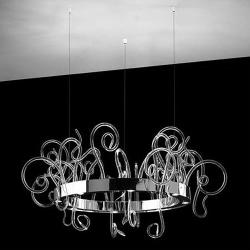 Aspid S95 Pendant Lamp 16x35W GU10 Glass