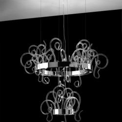 Aspid S35 + S95 Pendant Lamp 24x35W GU10 Glass