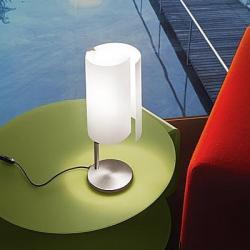 Diane T3 Table Lamp 1x100W E27 white Satin