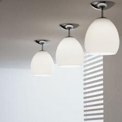 Golf PL ceiling lamp 1x150W E27 white Satin