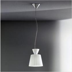 Katerina S22 Pendant Lamp white calido white Shiny