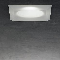 Mira 2 Recessed Ceiling 1x50W GU 5.3 Glass