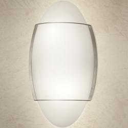 Roy Wall lamp/ceiling lamp 2x100W E27 white Satin