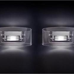 Vittoria P2/C Wall Lamp 1x150W R7s Glass