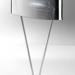 Vittoria T1/SP Table Lamp 1x150W R7s Glass chromed