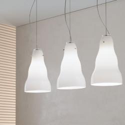 Vivia S Pendant Lamp 1x150W E27 white Satin
