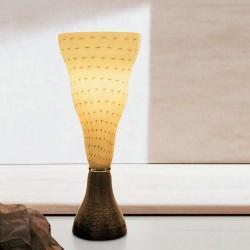 Vivia T Table Lamp 1x150W E27 ámbar manchado