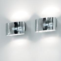 Vittoria P2/SP Wall Lamp 1x150W R7s Glass chromed