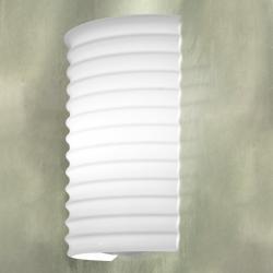 Module P/CL Wall Lamp 30cm E27 1x150w white Shiny