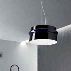 Aro s lamp Pendant Lamp 2gx13 white vt Black lucido