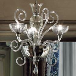Bolero L3 lamp Pendant Lamp Chrome Ahumado