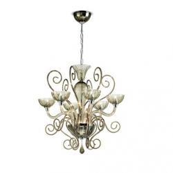 Bolero L6 lamp Pendant Lamp Chrome white Liso