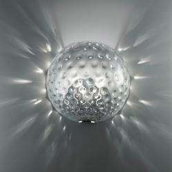 Derby 25 Wall Lamp Transparent glass