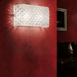 (Accessory) lampshade campana diamante Wall Lamp Glass