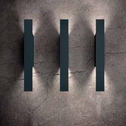 Isis Wall Lamp GU10 Grey