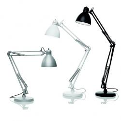 JJ TR 22 lamp of Floor Lamp white Shiny E27