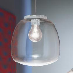 Omega S Pendant Lamp 20 Transparent