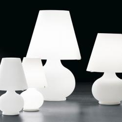 Lampshade P (Small) T lampshade Table Lamp white