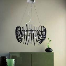 Salome 12 lamp Pendant Lamp Glass bulb