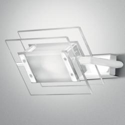 Trecentosessantagradi P-PL 120 Applique/Plafon R7s bianco