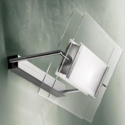 Trecentosessantagradi P-PL 120 luz de parede/Plafon R7s Cromo