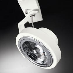 Point 1 Light proyector Embossed blanco