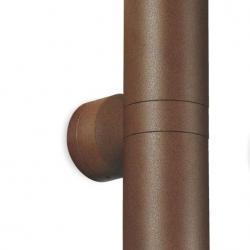 Vision 2 Applique Double Extérieure 2xQPAR16 35W acier cor ten