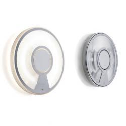 D41/32.22 Lightdisc Applique/plafonnier Diffuseur Petit,Transparent 2GX13 1x13W