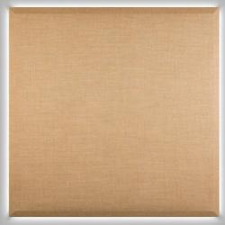 Silenzio Wall Lamp panel of fabric 100x100 Grey claro