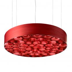 Spiro large Pendant Lamp Red/Rojo