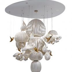 Candelabro Pendant Lamp 15 parts ø214cm