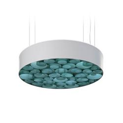 Spiro Pendant Lamp acrílico Medium Led 0-10v Dim white