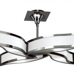 Sintesys Lamp plafón/Semiceiling lamp Chrome 4L