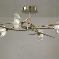 Eclipse Lamp Semiceiling lamp Chrome 4L