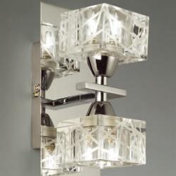 Zen Wall Lamp Chrome 2L