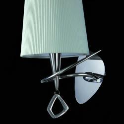 Mara Wall Lamp 15cm E14 20w Chrome white