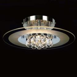 Mantra Glass ceiling lamp ø39cm G9 4x40w crsital Chrome