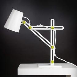Looker Table Lamp 1L 1x15w E27 white/Green
