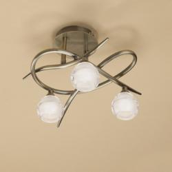 Loop ceiling lamp 3 x max 33w G9 Eco (OSRAM) CUERO