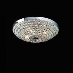 Mantra Glass 460 ceiling lamp 4L Glasses 4x40w G9 Glass
